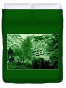 Green Zone Duvet Cover by Will Borden