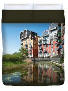 Greenwich Millennium Village Duvet Cover