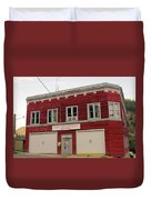 Greenwood Fire Hall Duvet Cover
