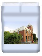 Greenwood Post Office Duvet Cover