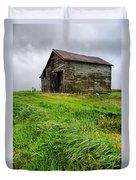 Grey County Barn Duvet Cover