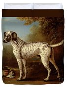 Grey Spotted Hound Duvet Cover