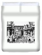 Griffith: Intolerance 1916 Duvet Cover