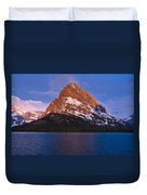 Grinnel Point At First Light Duvet Cover