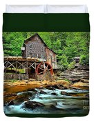 Grist Mill At Babcock Duvet Cover