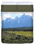 Grizzly Country Duvet Cover