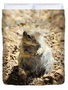 Ground Squirrel Duvet Cover