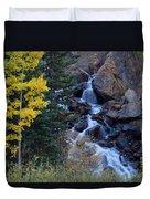 Guanella Falls Duvet Cover