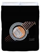 Guitar Abstract 1 Duvet Cover