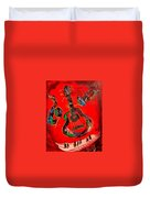 Guitar Jazz Duvet Cover