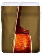 Guitar Wood Grain Exposed Duvet Cover