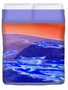 Dangerous Waters Duvet Cover