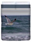 Gull In Flight Duvet Cover