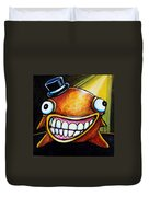 Gummy Stage Glob Duvet Cover by Leanne Wilkes
