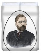 Gustave Eiffel, French Architect Duvet Cover