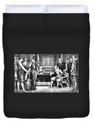 Guy Fawkes, English Soldier Duvet Cover
