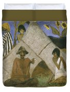 Gypsy Encampment Duvet Cover by Otto Muller or Mueller