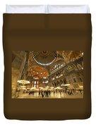Hagia Sophia In Istanbul Duvet Cover