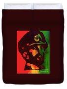 Haile Selassie Duvet Cover