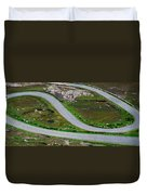 Hairpin Bends In The, Healy Pass, Beara Duvet Cover