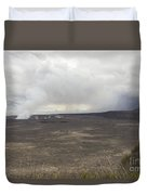 Halemaumau Crater Of Kilauea Volcano Duvet Cover