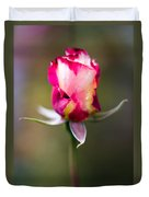 Half-a-rose Duvet Cover