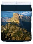 Half Dome From Washburn Point Duvet Cover