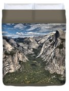 Half Dome Valley Duvet Cover
