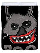Halloween 3- Boo Duvet Cover
