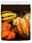 Halloween Colors Duvet Cover