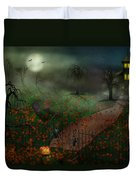 Halloween - One Hallows Eve Duvet Cover