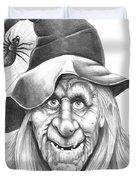 Halloween Weeotch Duvet Cover by Murphy Elliott