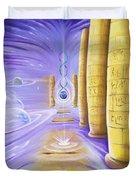 Halls Of Creation Duvet Cover