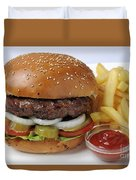 Hamburger  Duvet Cover