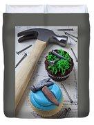 Hammer Cupcake Duvet Cover