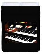 Hammond Electric Organ Duvet Cover