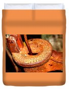 Hand Pump - Water Pump - Well Pump Duvet Cover
