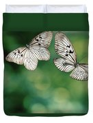 Handkerchief Butterfly Or Wood Nymph Duvet Cover