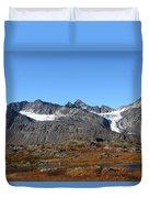 Hanging Glacier Duvet Cover