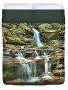 Hanging Rock Cascades Duvet Cover