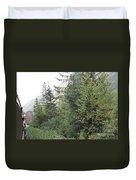 Hanging Shot Duvet Cover