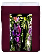 Hanging Vine From Photo Of Digitalis 1 Per Gimp Duvet Cover