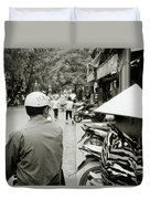 Hanoi In Vietnam Duvet Cover