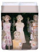 Hanoi Mannequins Duvet Cover