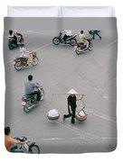 Hanoi Woman Duvet Cover