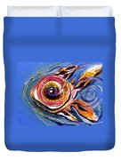 Happified Swirl Fish Duvet Cover