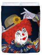 Happy Clown Duvet Cover