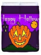 Happy Halloween 2 Duvet Cover