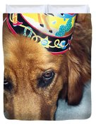 Happy Happy Birthday Buddy Duvet Cover