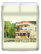 Happy Hour Washday Belize Duvet Cover